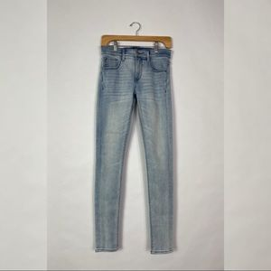 Like new Express skinny light wash jeans size 2L